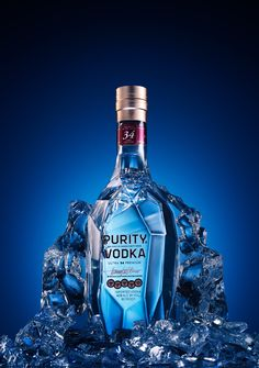 Advertising Beverage Photography: Vodka on Ice - Workshop Photigy School Of Photography Fun Drinks, Yummy Drinks, Healthy Drinks, Alcoholic Drinks, Beverages, Drinks Alcohol, Diet Drinks, Dinner Healthy, Healthy Food