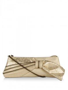 Baggit Bow And Zipper Mini Sling Bag purchase from koovs.com