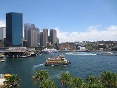 Sydney Harbour ferry at Circular Quay, Sydney Australia