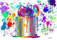 Paint Can Cat Too Nick Gustafson