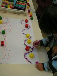 New Games and Activities to stimulate and work motor skills in children and preschool - Kitas - vorschule Preschool Writing, Preschool Art, Writing Activities, Preschool Circus, Kindergarten Art, Motor Skills Activities, Gross Motor Skills, Preschool Activities, Educational Activities