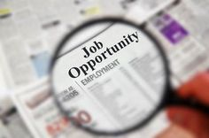 """A great tool for career exploration with your teen-- """"It's One Sharp Tool! Browse Jobs by Career Clusters as an Individual Who Is Blind or Visually Impaired"""" (Image: Magnifying glass over newspaper classified section with 'Job Opportunity' text) Chris Tomlin, Merchant Navy Jobs, Future Jobs, Ways To Earn Money, Earning Money, Government Jobs, Find A Job, Find Work, Leroy Merlin"""