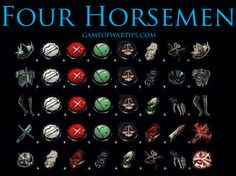 Four Horsemen Core Recipe for Game of War Fire Age