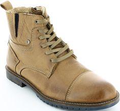 s.Oliver férfi bőr bokacipő Combat Boots, Shoes, Fashion, Moda, Zapatos, Shoes Outlet, Fashion Styles, Shoe, Footwear