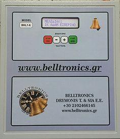 Χειριστήριο κωδωνοκρουσίας απο 1 εώς 6 καμπάνες.  Πολύ ευκολός χειρισμός. Το ποιο οικονομικό μοντέλο  της BELLTRONICS. Το ποιο οικονομικό χειριστήριο κωδωνοκρουσίας  της αγοράς.  Τηλέφωνα επικοινωνίας: 2102466145 - 6973655412