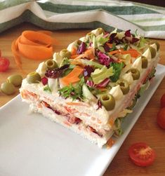 Antipasto, Sandwich Cake, Food Platters, Chicken Salad Recipes, Wrap Sandwiches, Finger Foods, Mousse, Catering, Brunch