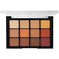 Viseart Eye Shadow Palette 10 Warm Mattes product smear.