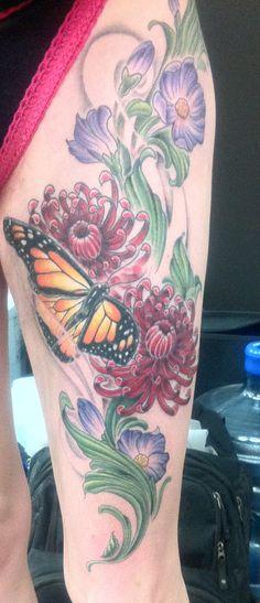 Kerri Lynn - Gas Pedals Tattoo 1559