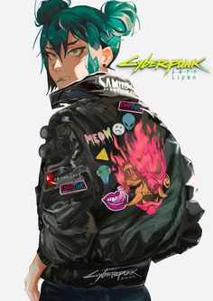 Cyberpunk 2077 Art: Retrofuturism in Beams of Neon Light - The Designest Cyberpunk 2077, Cyberpunk Anime, Arte Cyberpunk, Cyberpunk Aesthetic, Cyberpunk Girl, Cyberpunk Character, Character Concept, Character Art, Concept Art