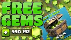 Clash Of Clans Free Gems Is A Free To Use Online Tool It Generates Free Gems Resource Obtainable Only In App Purchases Within The Game