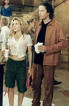 Carrie Bradshaw in Sex and the City season 3. Loved the thrown on, thriftstore chic looks of earlier episodes.