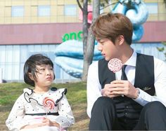 """""""have you ever thought of seokjin being a dad soon? like, he will fetch his little one from school and bring some lunch, he'll play with her and will ask each other if they both enjoyed their whole day, seokjin would be the best dad ever ! Jimin, Bts Jin, Bts Bangtan Boy, Seokjin, Hoseok, Jung Kook, K Pop, Bts Cute, Mnet Asian Music Awards"""