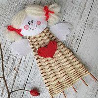 Zboží prodejce Jalis / Zboží | Fler.cz Diy And Crafts, Crafts For Kids, Arts And Crafts, Paper Crafts, Christmas Crafts, Christmas Decorations, Christmas Ornaments, Holiday Decor, Newspaper Basket