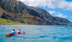 Active Kauai Weekend Adventure: Explore the best of Kauai, Hawaii's Garden Isle. Snorkel or try stand-up paddle surfing in Hanalei Bay, hike the ridges and gorges of Waimea Canyon, and kayak the famous Na Pali Coast.