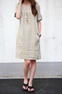 Khaki linen dress maxi dress cotton dress casual loose cotton skirt linen blouse large… - https://sorihe.com/blusademujer/2018/03/01/khaki-linen-dress-maxi-dress-cotton-dress-casual-loose-cotton-skirt-linen-blouse-large/ #women'sblouse #blouse #ladiestops #womensshirts #topsforwomen #shirtsforwomen #ladiesblouse #blackblouse #women'sshirts #womenshirt #whiteblouse #blackshirtwomens #longtopsforwomen #long tops #women'sshirtsandblouses #cutetopsforwomen #shirtsandblouses #dressytops…