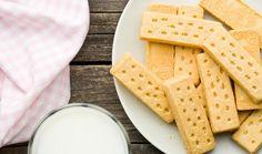 Μπισκότα βουτύρου (shortbread)