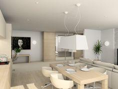 Biało-beżowa kuchnia otwarta na salon - fronty!!!