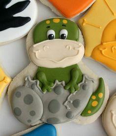 dinosaur cookies - Google Search