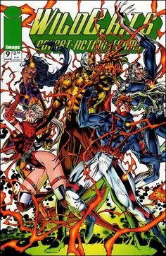 WildC.A.T.s: Covert Action Teams 9-A by Image