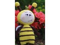 Amigurumi, Gehäkelt  Biene .Häkeln.Handarbeit.Häkeltier.handmade