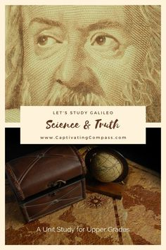 There is much to learn about this amazing inventor and mathematician and his incredible contribution to science. Get the most out of learning about the incredible life and works of Galileo with the Let's Study Galileo Unit Study. School Fun, Middle School, High School, History For Kids, Stem For Kids, Free Courses, Critical Thinking, Fun Learning, Lesson Plans