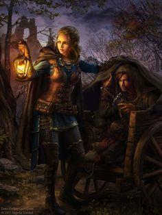 Smuggler by anotherwanderer http://magicartworld.com/fantasy-art-by-laura-sava-aka-anotherwanderer/…