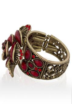 Red Bangles And Bracelets #MyYDHDLook