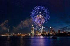 July 4th fireworks in Milwauke  by magrolino, via Flickr