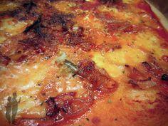 Pizza aux oignons et au gorgonzola | Piratage Culinaire
