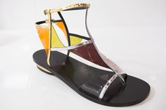 """Design Trendsetter 2015"" contest: Alain Tondowski flat sandals, F/W 2015/2016 collection #alaintondowski"