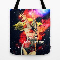 The Monster Girl Tote Bag by Freak Shop   Freaks & Geek Products - $22.00