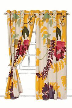 Finnia Curtain #anthropologie