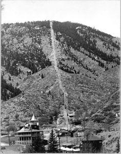 Mt Manitou Incline ~ Manitou Springs Colorado ~ 1925