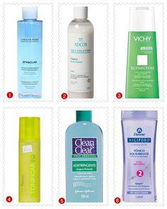 Tônicos Faciais Para Peles Oleosas: opções de tônicos faciais para peles oleosas de todos os preços, desde os mais baratinhos até os mais caros!