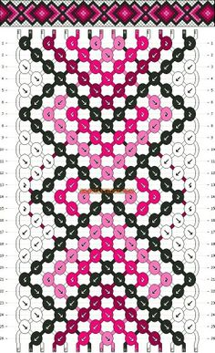 Live love dance friendship bracelet pattern number 11733 - For more patterns and tutorials visit our web or the app! Bracelet Fil, Bracelet Knots, Bracelet Crafts, Jewelry Crafts, Floss Bracelets, Woven Bracelets, Embroidery Bracelets, Pandora Bracelets, Anklet Designs