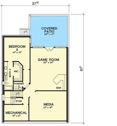Hill Country Home Plan with Optional Lower Level - 31189D   Architectural Designs - House Plans