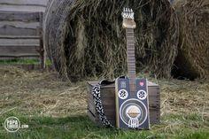 cigar box guitar - gitara z niczego papatimber