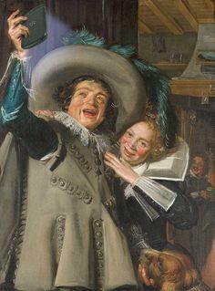 Frans Hals, Junker Ramp und seine Liebste (1623) – BlackBerry Q10