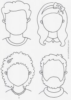 Faces - coloring page - The House of Häusl-Vad