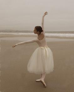 Ballerina on the Beach 8x10 Fine Art by lucysnowephotography, $20.00
