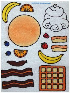 Flip Flap Jack Felt/ Flannel Board Set by StorytellingFun on Etsy