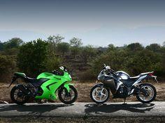 Starter motorcycles: Ninja 250r and Honda CBR250r