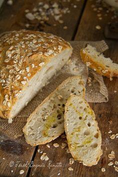 Dagasztás nélküli kenyér így, meg úgy