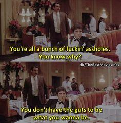 - Al Pacino as Tony Montana Scarface (1983). Dir: Brian De Palma