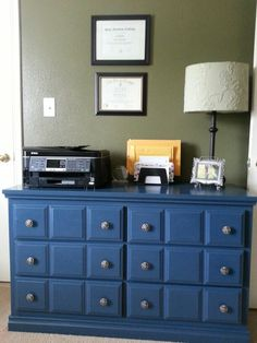 Completed dresser