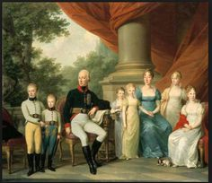 Josef Kreutzinger - Kaiserliche Familie - Maria Theresa of Naples and Sicily- mother of Empress Maria Louisa - with her husband and children. - Wikipedia, the free encyclopedia Maria Theresa, Spanish Netherlands, Franz Josef I, Two Sicilies, Dead King, Francis I, Holy Roman Empire, Roman Emperor, Parma