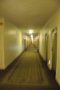 The Shining Hallway. Scarey!   Pennsylvania Hotel New York. # Pin++ for Pinterest #