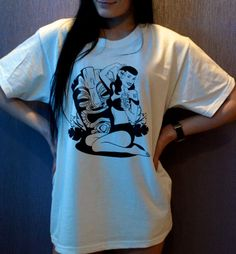 "Koszulka ""TIKI girl"" Rozmiary M, L"