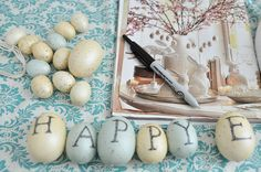 Pottery Barn Eggs - diy