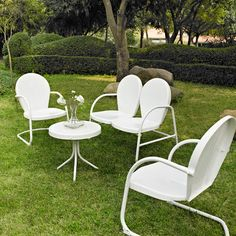 Crosley Griffith 4 Piece Seating Group | Wayfair